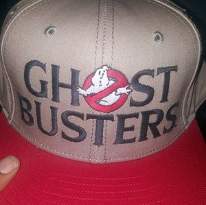 Ghostbusters snapback hat